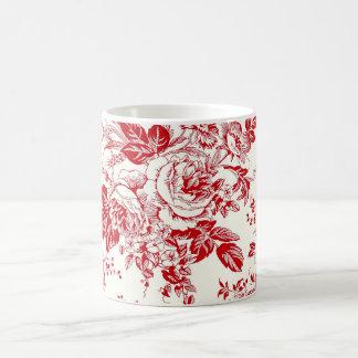 Toile Roses Taza
