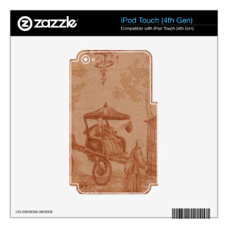 Toile - Sepia iPod Touch 4G Skins