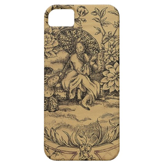 Toile - Taupe iPhone SE/5/5s Case