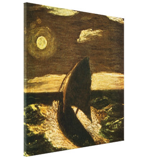 Toilers of the Sea by Albert Pinkham Ryder Stretched Canvas Print
