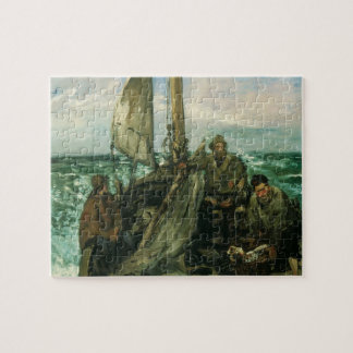 Toilers of the Sea by Manet, Vintage Impressionism Jigsaw Puzzle