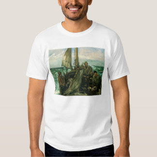Toilers of the Sea by Manet, Vintage Impressionism Tee Shirt