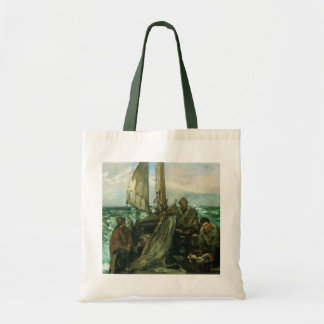 Toilers of the Sea by Manet, Vintage Impressionism Tote Bag