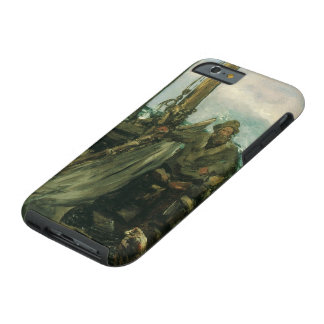 Toilers of the Sea by Manet, Vintage Impressionism Tough iPhone 6 Case