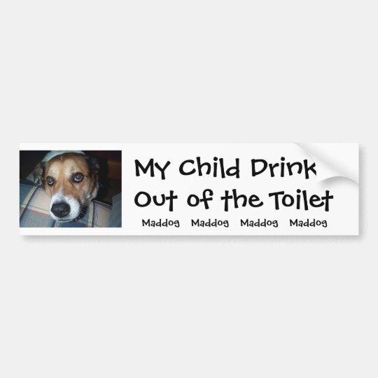 Toilet Bumper Bumper Sticker