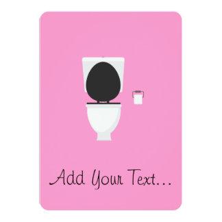 Toilet Card