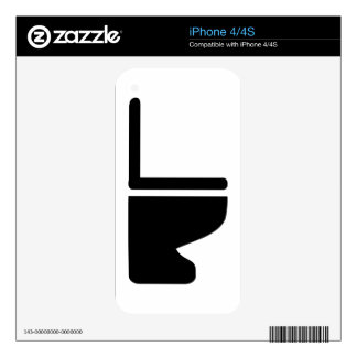 Toilet Decal For The iPhone 4S