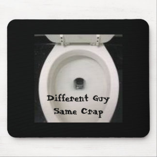 toilet, Different GuySame Crap Mouse Pad