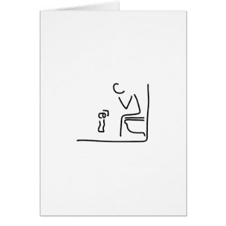 toilet digesting attraction intestine card
