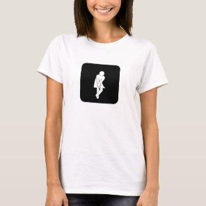 Toilet - Female T-Shirt