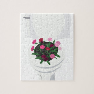 Toilet Flowers Jigsaw Puzzle