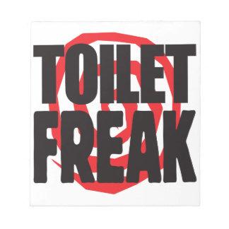 Toilet Freak Notepads