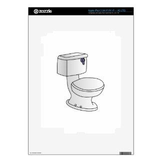 Toilet iPad 3 Skins