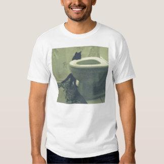 Toilet Kitty T-Shirt