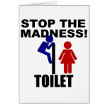 Toilet Madness Card