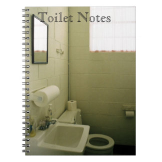 Toilet Notes 1 Spiral Notebook
