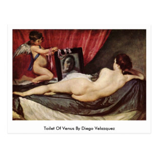 Toilet Of Venus By Diego Velazquez Post Card