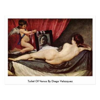 Toilet Of Venus By Diego Velazquez Postcard