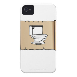 toilet on the scroll iPhone 4 case