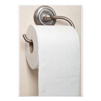 Toilet paper announcements