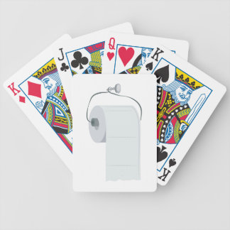 Toilet Paper Bicycle Playing Cards