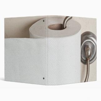 Toilet paper binder