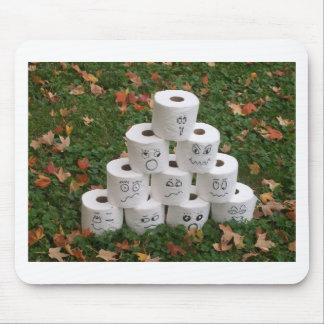 Toilet Paper Bowling Mousepads