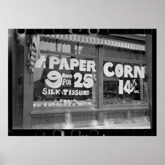 Toilet Paper & Corn Poster