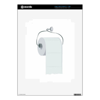Toilet Paper Decal For iPad 2