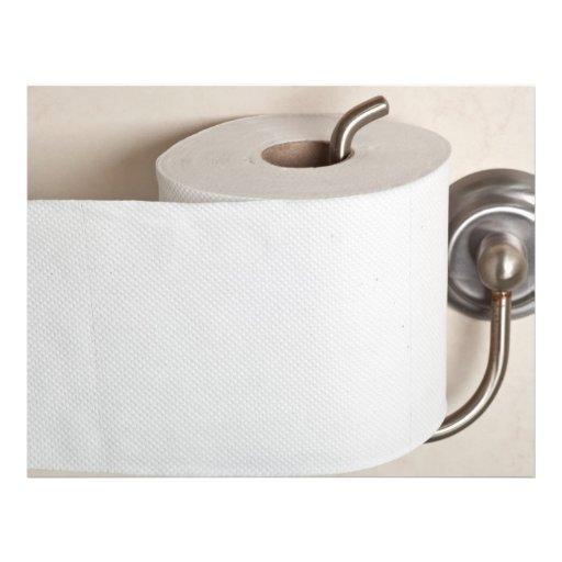 Toilet paper full color flyer zazzle for Design your own toilet paper