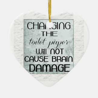 toilet paper humor christmas ornaments