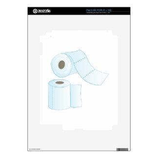 Toilet Paper iPad 2 Skin