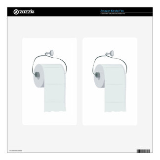Toilet Paper Kindle Fire Skin