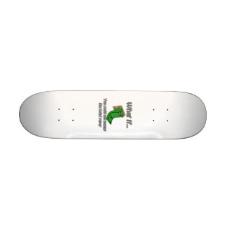 Toilet Paper Money Skate Boards