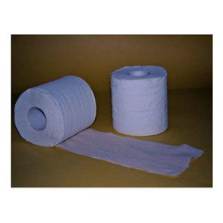 Toilet paper Photo Postcard