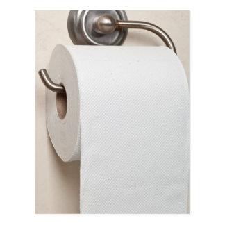 Toilet paper postcard
