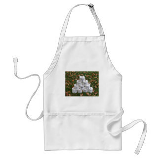 Toilet Paper Pyramid Adult Apron