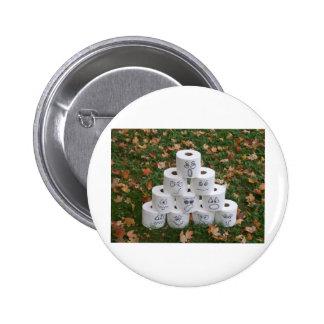 Toilet Paper Pyramid Button