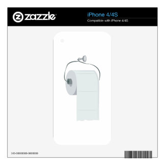 Toilet Paper Skin For iPhone 4