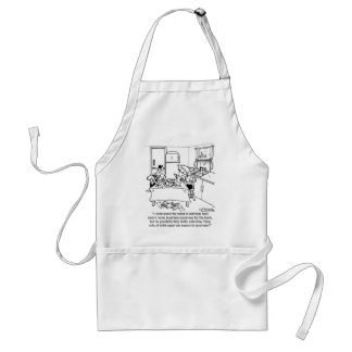 Toilet Paper & Taxes Adult Apron