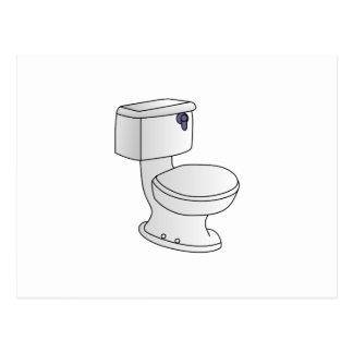 Toilet Postcard