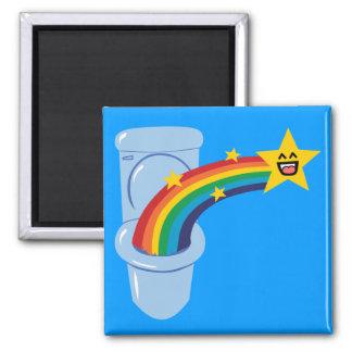 Toilet Rainbow Refrigerator Magnet