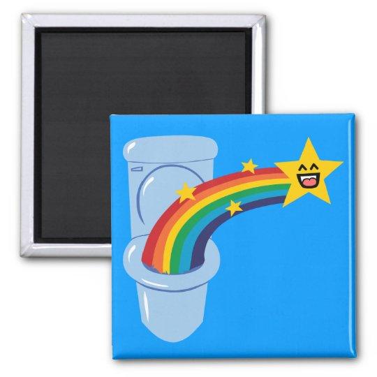 Toilet Rainbow Magnet