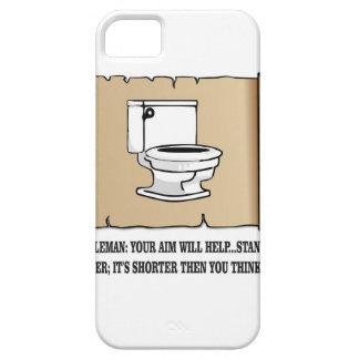 toilet saying iPhone SE/5/5s case