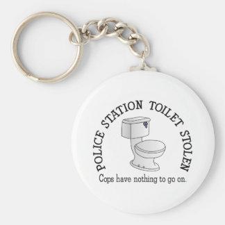 Toilet Stolen Keychain