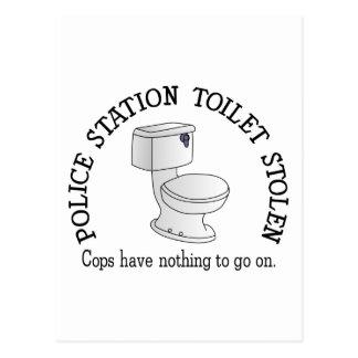 Toilet Stolen Postcard