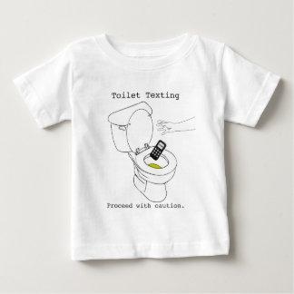 Toilet Texting Baby T-Shirt