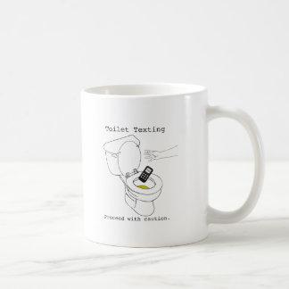Toilet Texting Coffee Mug