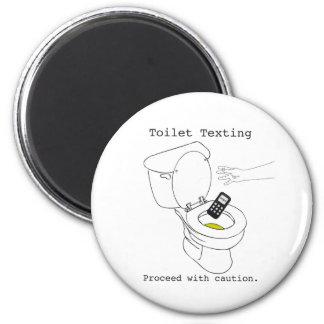 Toilet Texting Magnet