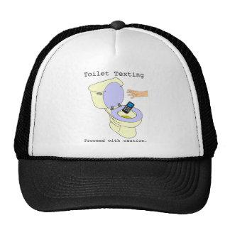 Toilet Texting Trucker Hat